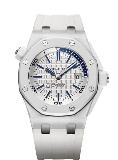 Audemars Piguet Royal Oak Diver white