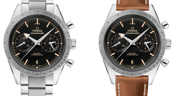 Omega Speedmaster '57 2015 Reissued Editions with Broader Arrows