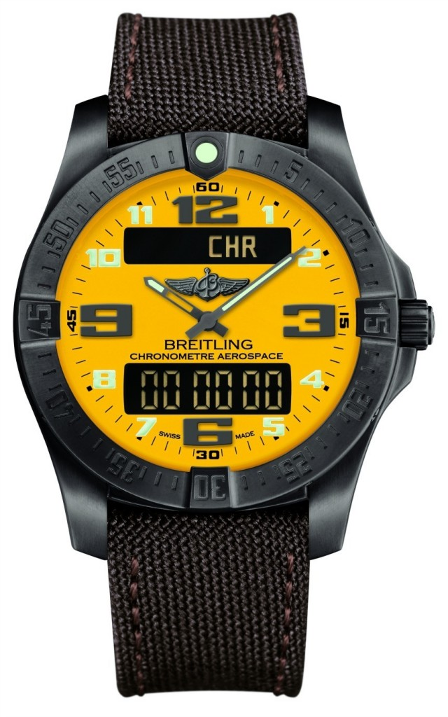 Breitling-Aerospace-Evo-Night-Mission-Yellow-Dial