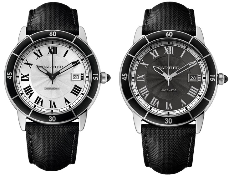 Cartier-Ronde-Croisiere-white-and-black-dial-EiT