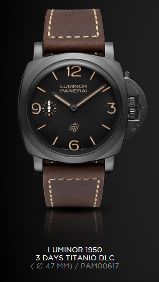Officine-Panerai-Luminor-1950-3-Days-Titanio-DLC-PAM-617-EiT
