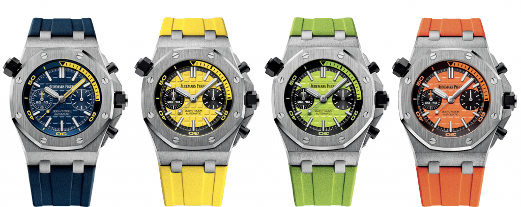 Audemars Piguet Royal Oak Offshore Diver Chronograph 4 colors