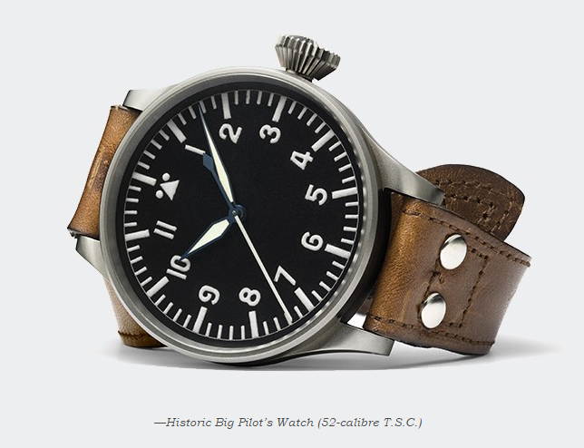 IWC Big Pilot Heritage 55  HISTORIC Capture