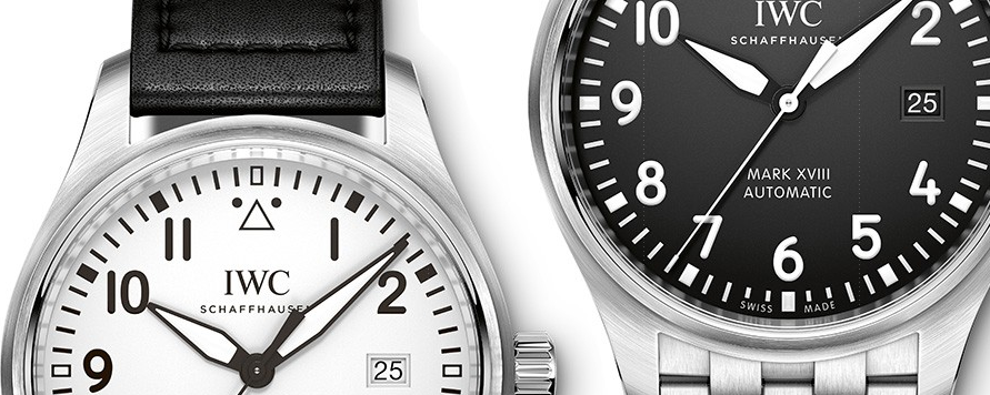 IWC MArk XVIII B and W - Capture
