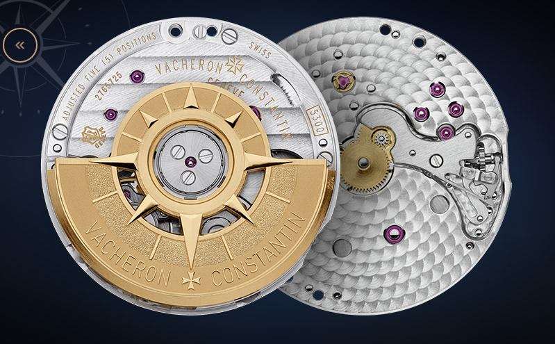 Vacheron 5300 caliber Capture