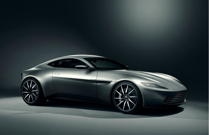 Spectre Aston Martin Capture