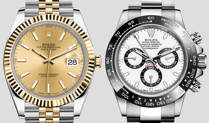 BLOG - Basel - Rolex Datejust Daytona