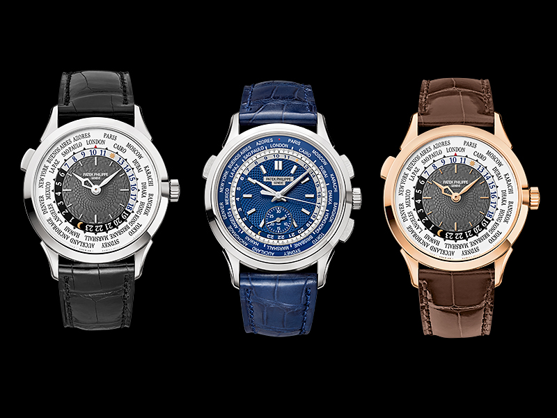 Patek World TIme & Chronograph