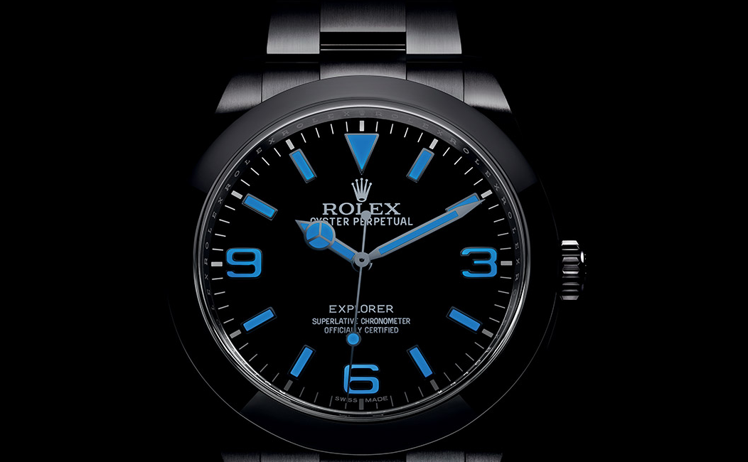 Rolex Chromalight BLUE - Capture