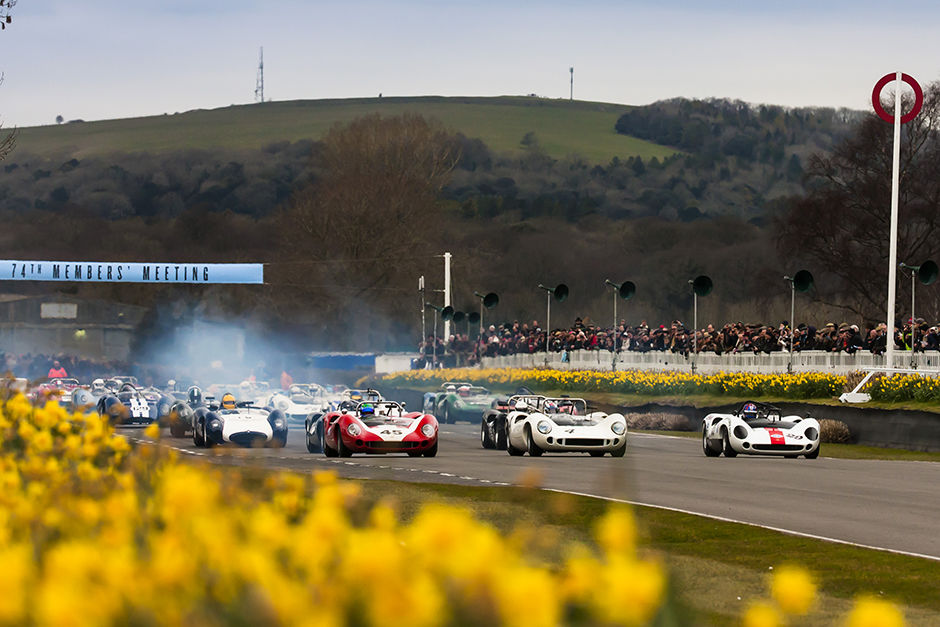 2016 Goodwood Members Meeting 74th Members Meeting  19th - 20th March 2016. Bruce McLaren Trophy Photo: Drew Gibson.