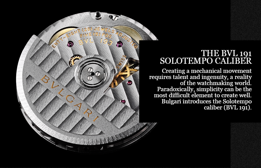 Bvlgari Solotempo caliber - Capture