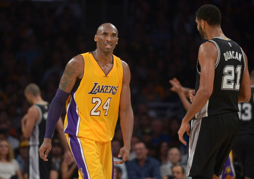 tim-duncan-kobe-bryant-nba-san-antonio-spurs-los-angeles-lakers