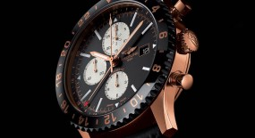 Breitling Chronoliner iN 18k Red Gold