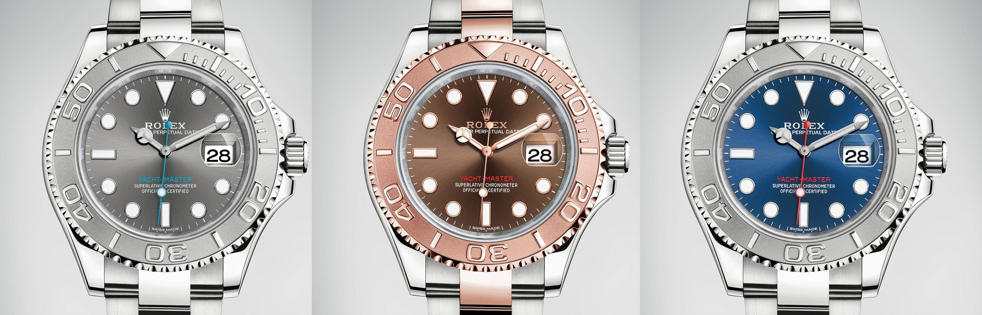 Rolex Issues Yacht Master 40 In Two Metals