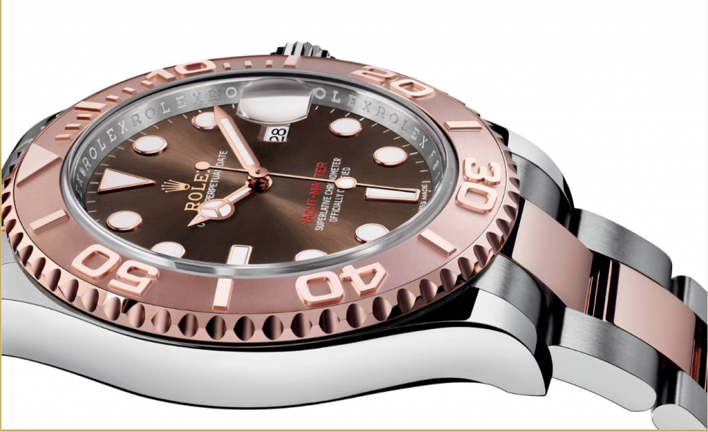 Rolex Yacht Master 40 - on side - Capture