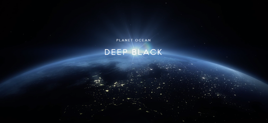 Omega Planet Ocean Deep Black - flyer - Capture