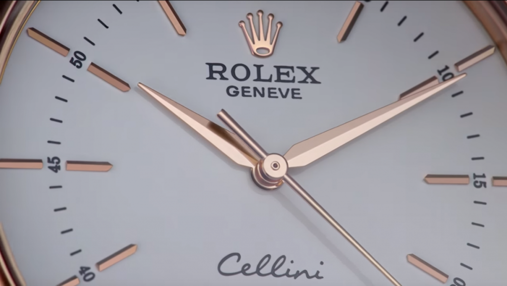Rolex Cellini CU dial - Capture