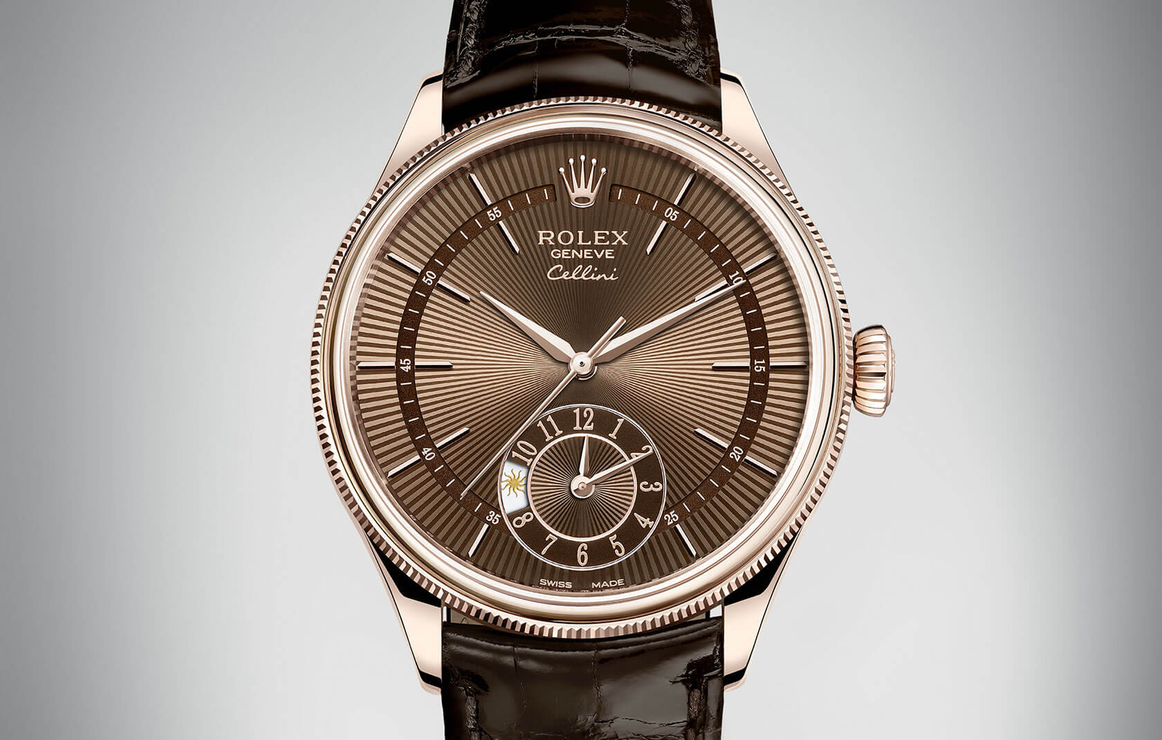Rolex cellini time date dual time in 2016 for Rolex cellini