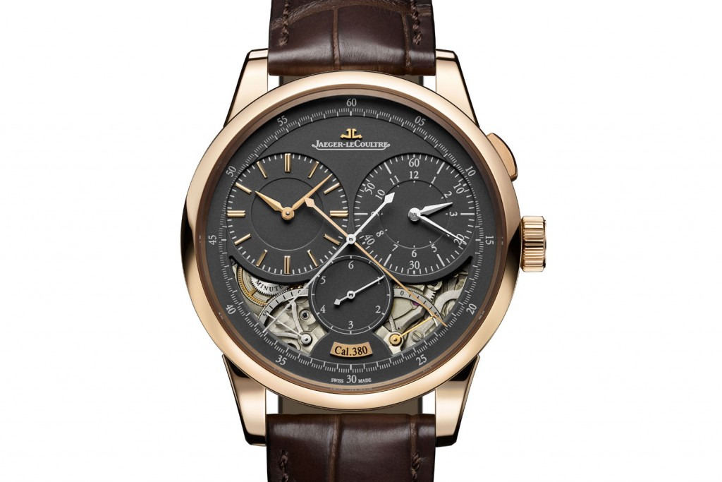 Jaeger-LeCoultre-Duometre-Chronograph-magnetite-grey-dial-SIHH-2017