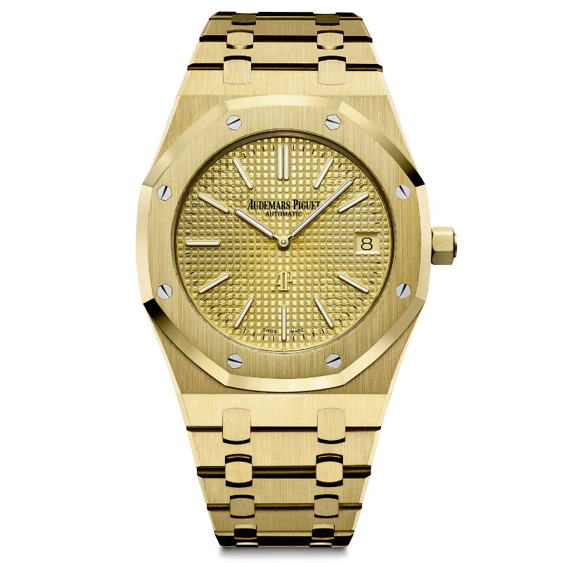 AP Royal Oak Ultra-Thin Jumbo-01-yellow-dial