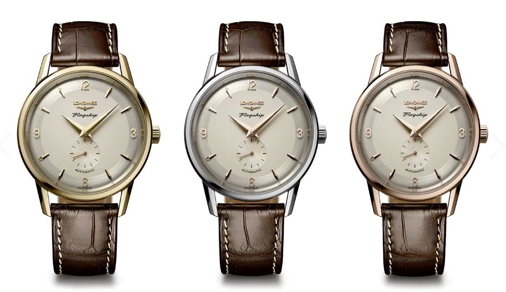 Longines-Heritage-60-anniversary-BaselWorld-2017-3-versions