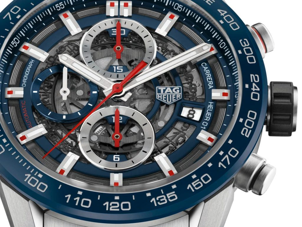 Tag Heuer Carrera 01 Space Leather 43mm Car201tfc6406 2017