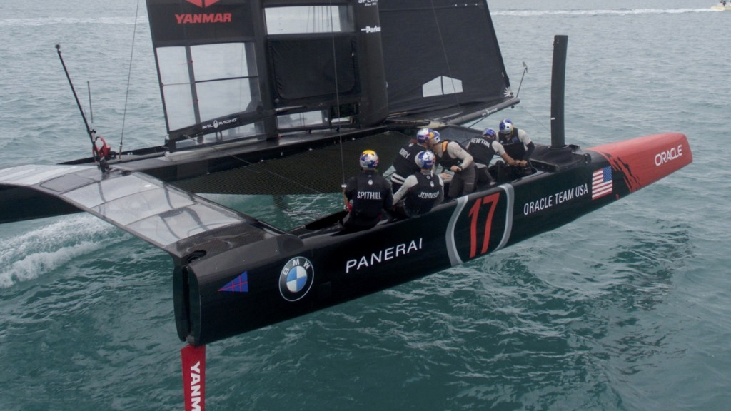 17/01/21 - Hamilton (BDA) - 35th America's Cup Bermuda 2017 - ORACLE TEAM USA - AC45S training