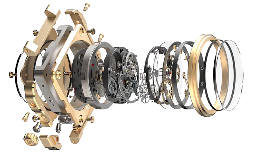 Bell Ross tourbillon movement