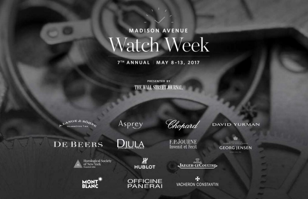 Madison Avenue - Watch Week 2017