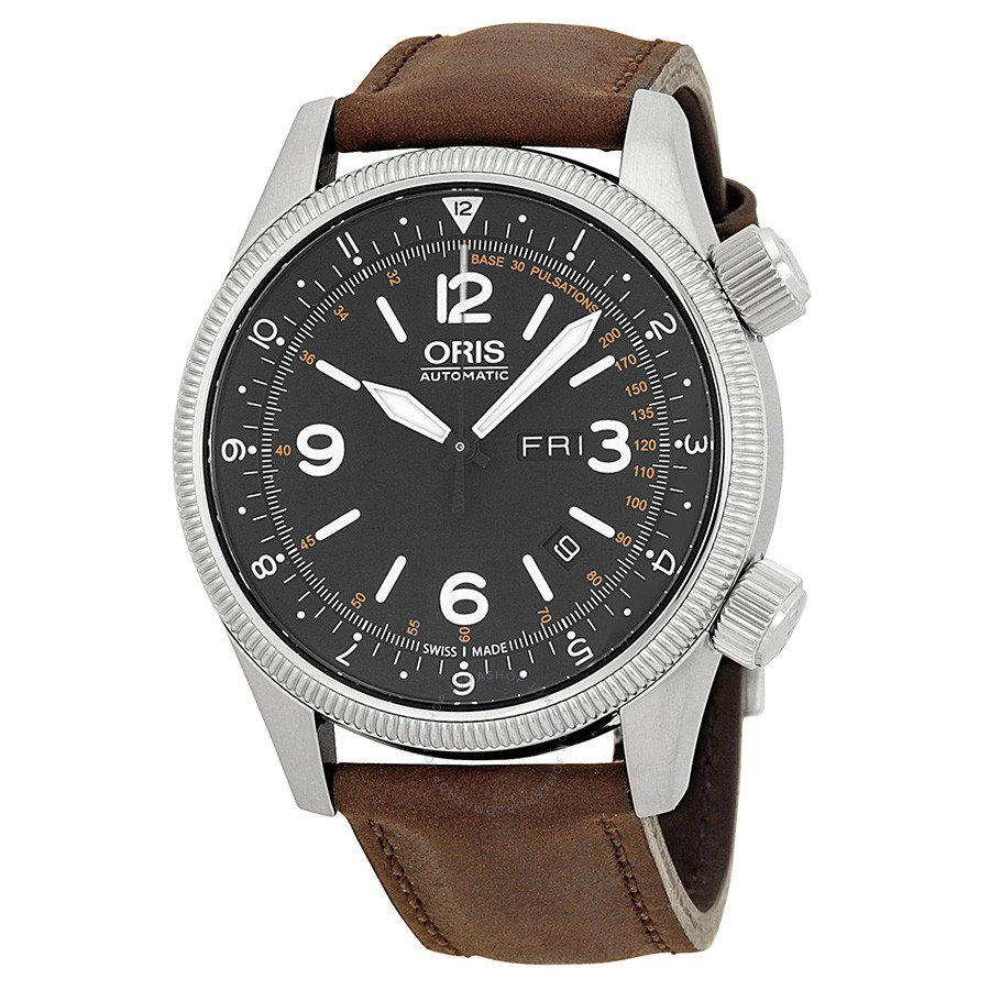 oris-royal-flying-doctor-service-black-dial-brown-leather-mens-watch