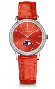 Zenith Elite Lady Moonphase - Red