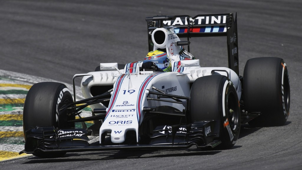 Interlagos, Sao Paulo, Brazil. Saturday 14 November 2015. Felipe Massa, Williams FW37 Mercedes. World Copyright: Glenn Dunbar/LAT Photographic ref: Digital Image WW2Q4049