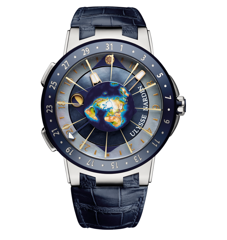 "Original ""Ulysse Nardin Executive Moonstruck"""
