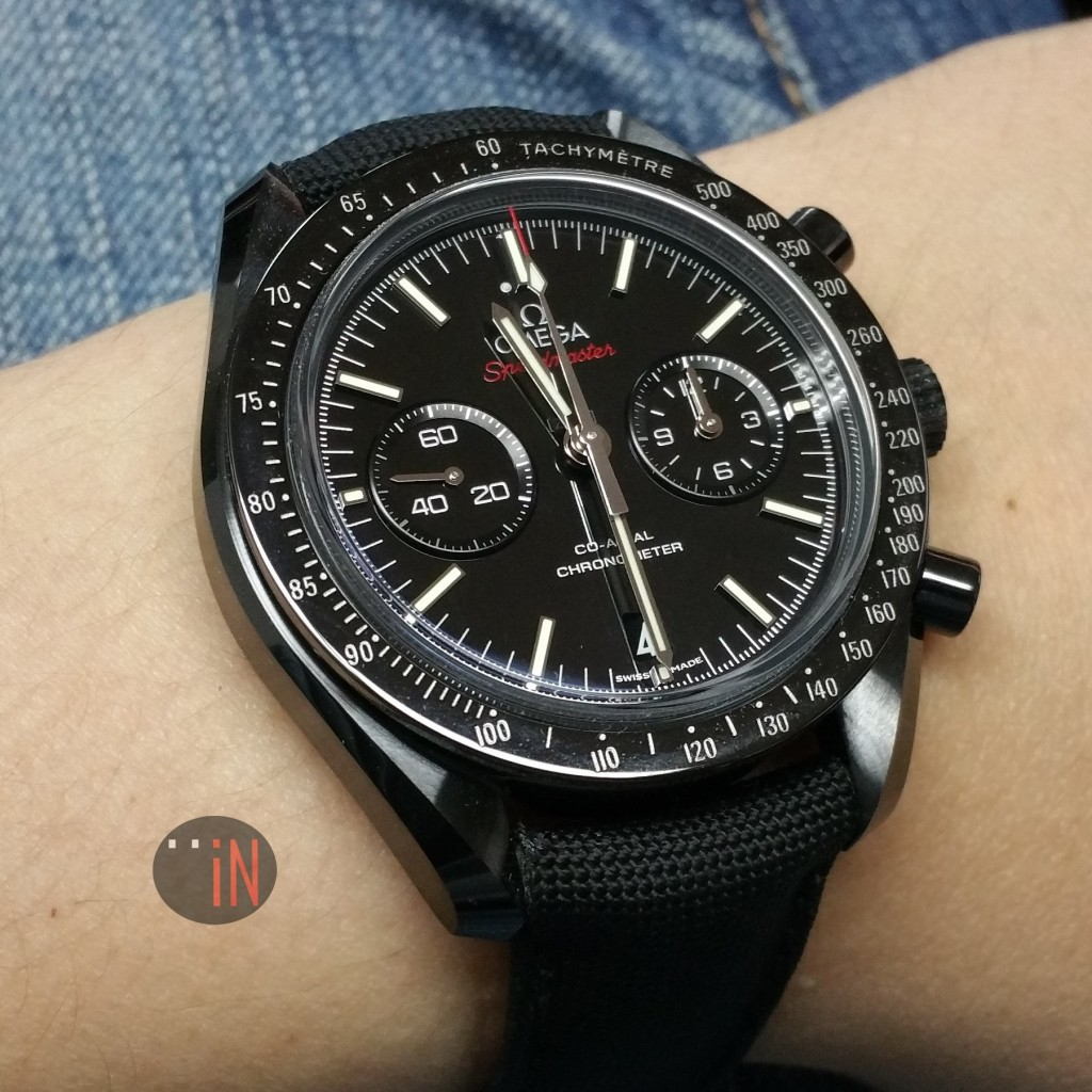 Omega 44mm Speedmaster Dark Side