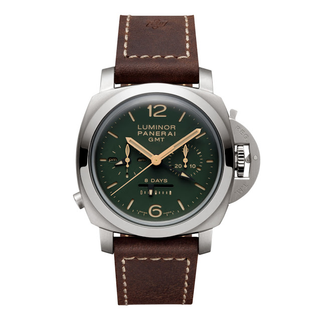 Panerai-Luminor-1950-PAM737-Green-front