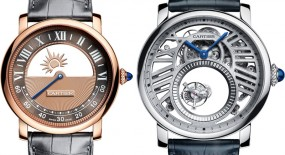 "Cartier Unveils Two New ""Mysterious Collection"" Watches for 2018"