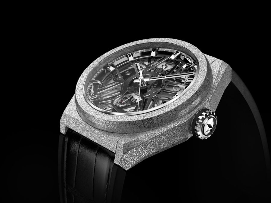 Zenith-Defy-Lab-watch-Aeronith-case-grey-and-black-version