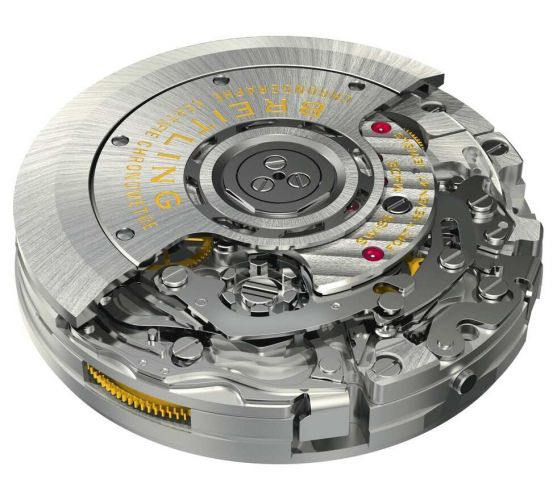 Breitling in-house caliber B01-58