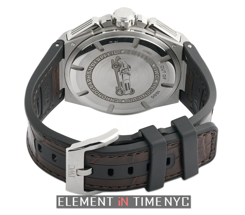 IWC Ingenieur 45mm Chronograph Silberpfeil Limited Edition-Back