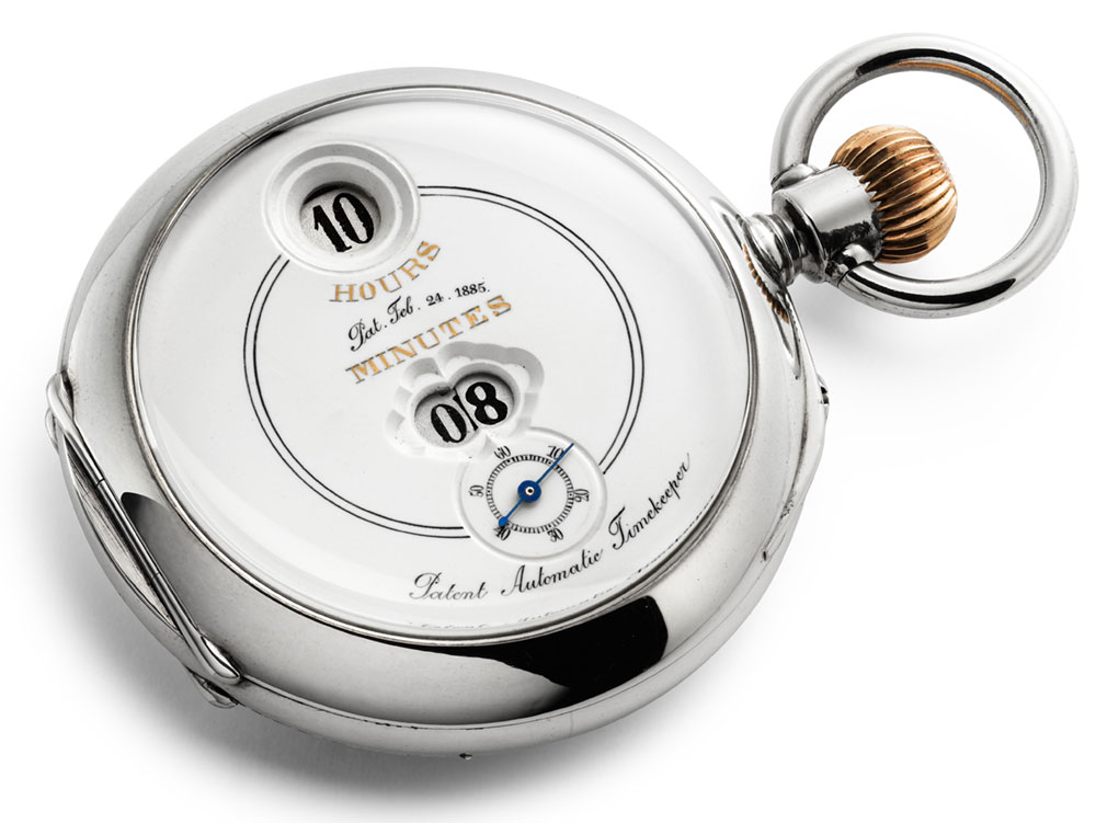 IWC-Tribute-To-Pallweber-Edition-150-Years-IW505002-Vintage-Pocket-Watch