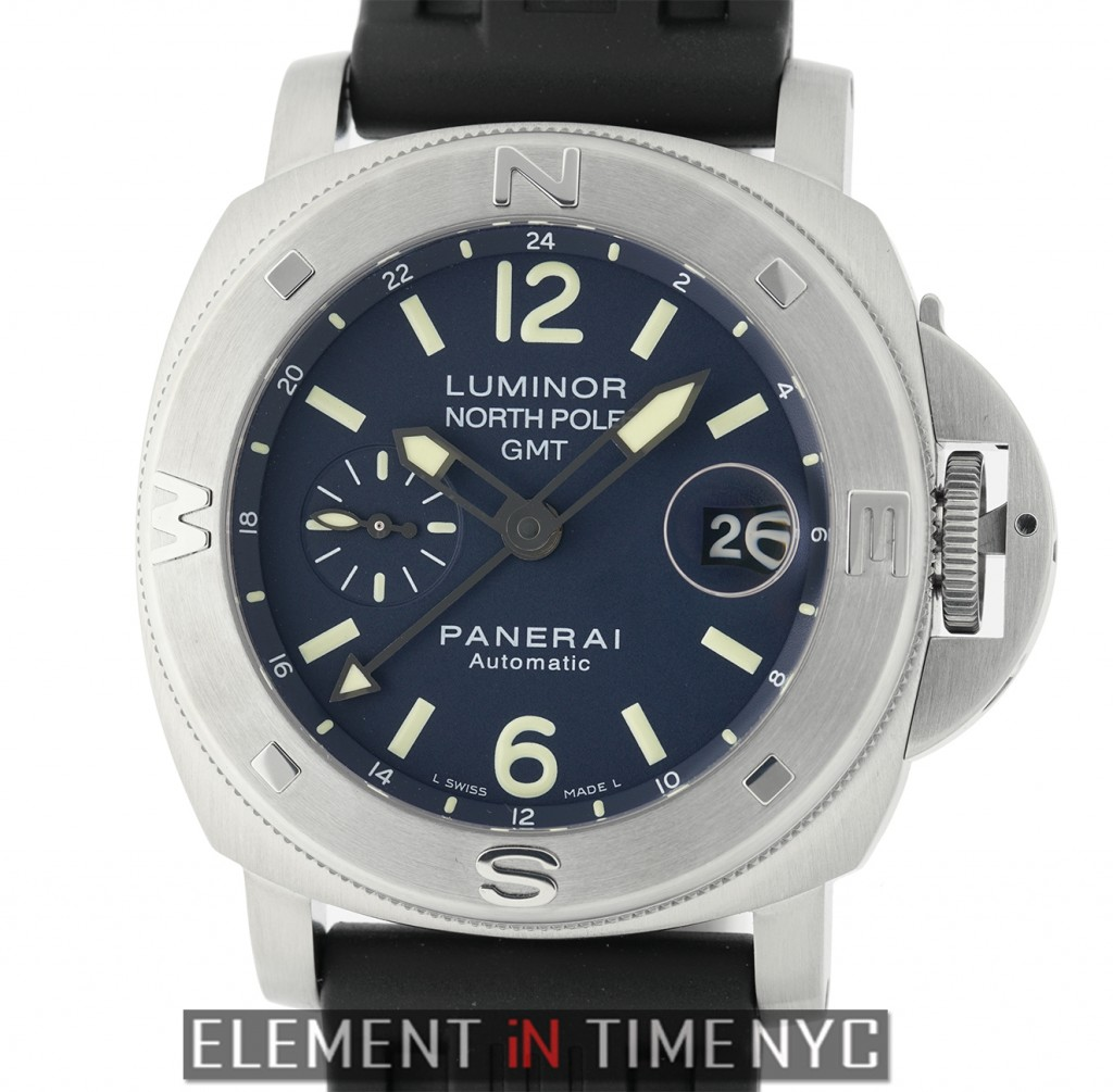 Panerai 44mm Luminor Submersible North Pole GMT Mike Horn