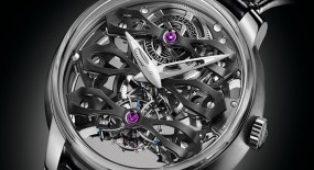 Girard-Perregaux Neo-Tourbillon with Three Bridges Skeleton