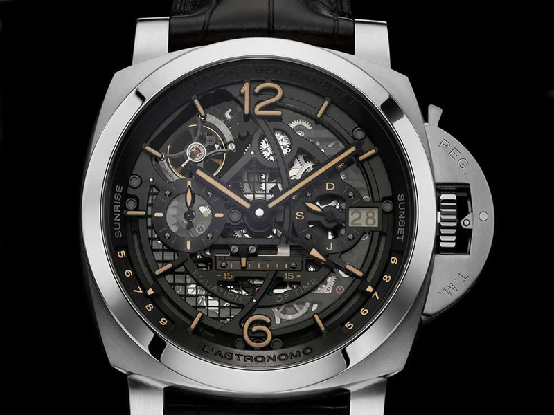 Panerai L'Astronomo Luminor Equation of Time GMT
