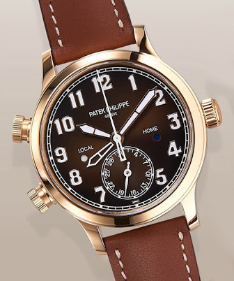 Patek-Philippe-Calatrava-Pilot-Travel-Time-RG008 - LADIES