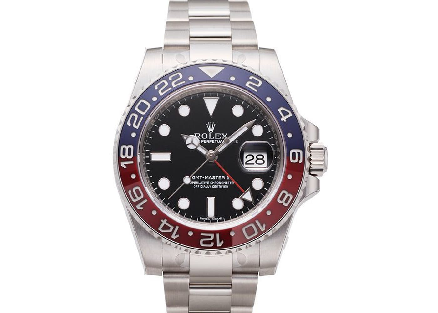 Rolex gmt master ii pepsi in oystersteel at baselworld 2018 for Rolex gmt master
