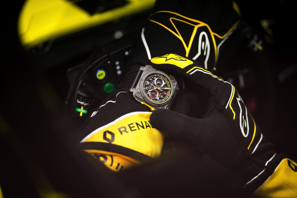 Renault Sport F1 Team RS18 - Bell & Ross. Renault Sport F1 Team Filming Day, Saturday 24th February 2018. Barcelona, Spain.