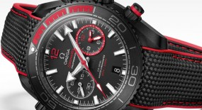 "Omega Seamaster Planet Ocean Deep Black ""Volvo Ocean Race"" LTD ED"
