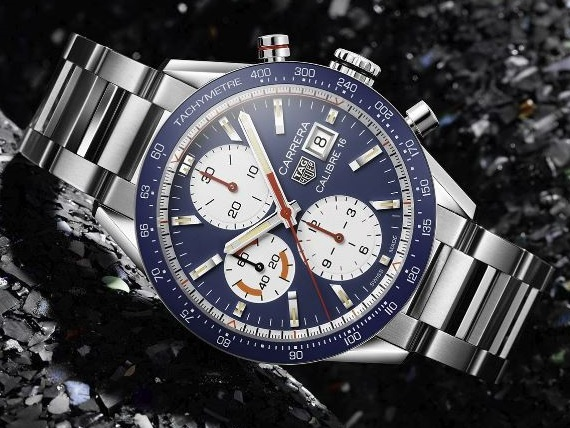 TAG-Heuer-Carrera-16-CHronograph-16---blue dial-2018 - Copy