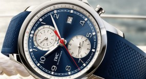 "IWC Portugieser Yacht Club Chronograph ""Summer Edition"""