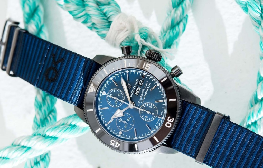 Breitling-SuperOcean-OuterKnown-03-Heritage-II-Chronograph-44-Outerknown-NATO-Woven-Upcycle-Recycle-Environment-Eco-Dive-2 - Copy
